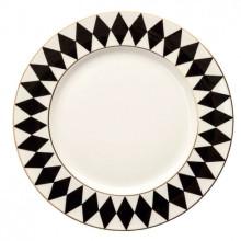 Parterre Black Dinnerware | Gracious Style