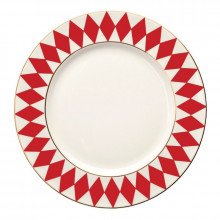 Parterre Red Dinnerware | Gracious Style