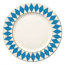 Parterre Blue Dinnerware | Gracious Style