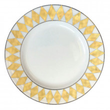Parterre Gold Dinnerware | Gracious Style