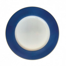 """Plain Midnight Gold 13"""" Charger Plate 