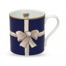 Ribbon Blue Mug | Gracious Style
