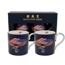 Star Spangled Banner Mug Gift Set of 2 | Gracious Style
