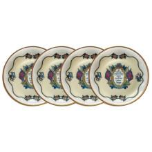 Vivat Regina Ivory Coaster, Set of 4 | Gracious Style