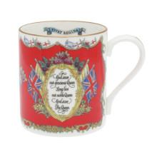 Vivat Regina Red Mug | Gracious Style