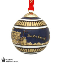 Windsor Castle by night Bauble | Gracious Style