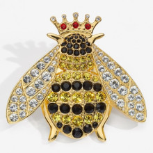 Sparkle Queen Bee Brooch | Gracious Style