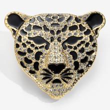 Leopard Sparkle Brooch | Gracious Style