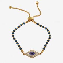 Evil Eye Pave Bracelet | Gracious Style