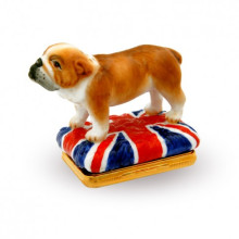 Iconic Great Britain London City Landmarks Enamel Box (Special Order) | Gracious Style