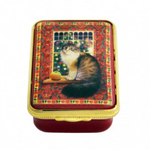 LAI Agneatha with the Apple Christmas Enamel Box (Special Order) | Gracious Style