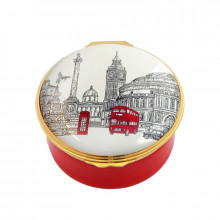 Musical Enamel Box Big Ben plays 'Westminster chimes' (Special Order) | Gracious Style