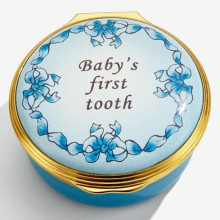 Baby's First Tooth Boy Enamel Box (Special Order) | Gracious Style