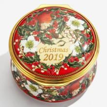 2019 Christmas Box Enamel Box (Special Order) | Gracious Style