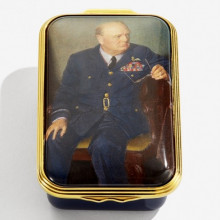 Global Icons Washington in the Summer Enamel Box (Special Order) | Gracious Style