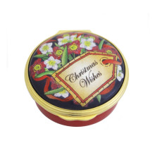 Christmas Wishes Christmas Enamel Box (Special Order) | Gracious Style