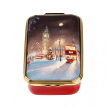 Christmas in Westminster Christmas Enamel Box (Special Order) | Gracious Style
