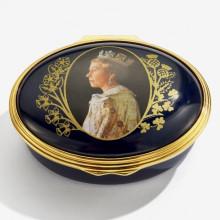 Her Majesty Queen Elizabeth II Longest Reigning Monarch Enamel Box (Special Order) | Gracious Style