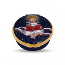 Cherub Singing Christmas Enamel Box (Special Order) | Gracious Style