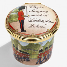 Iconic Great Britain Windsor Castle Enamel Box (Special Order) | Gracious Style