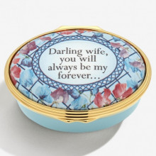 Darling Wife, you always will be my forever Enamel Box (Special Order) | Gracious Style