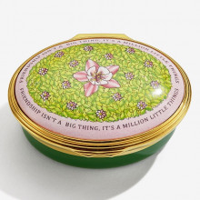 Friendship Isn't a Big Thing Enamel Box (Special Order) | Gracious Style
