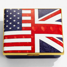 Iconic United States of America The Royal Albert Hall Enamel Box (Special Order) | Gracious Style