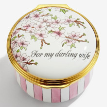 For My Darling Wife Enamel Box (Special Order) | Gracious Style