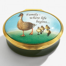 Family… where life begins Enamel Box (Special Order) | Gracious Style