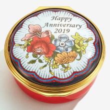 2019 Happy Anniversary Enamel Box (Special Order) | Gracious Style