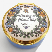 Having a friend like you Enamel Box (Special Order) | Gracious Style