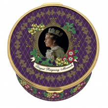 Her Majesty Queen Elizabeth II The Longest Reigning Monarch Musical Enamel Box LE75 plays 'Hallelujah' (Special Order) | Gracious Style