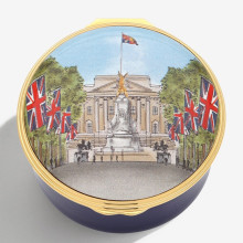 Musical Enamel Box The Mall plays 'God Save the Queen' (Special Order) | Gracious Style