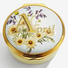 April Enamel Box (Special Order) | Gracious Style