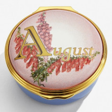 August Enamel Box (Special Order) | Gracious Style