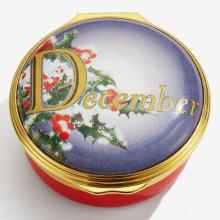 December Enamel Box (Special Order) | Gracious Style