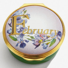 February Enamel Box (Special Order) | Gracious Style