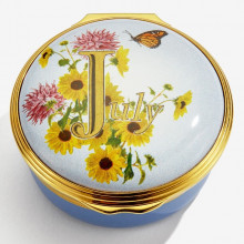 July Enamel Box (Special Order) | Gracious Style