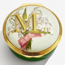 May Enamel Box (Special Order) | Gracious Style