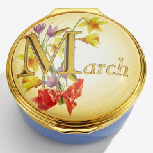 March Enamel Box (Special Order) | Gracious Style