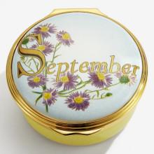 September Enamel Box (Special Order) | Gracious Style