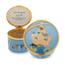 Musical Enamel Box Noah's Ark plays 'Talk to the Animals'. (Special Order) | Gracious Style