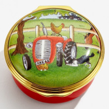 Old MacDonald Enamel Box (Special Order) | Gracious Style