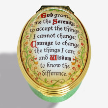 The Serenity Prayer Enamel Box (Special Order) | Gracious Style