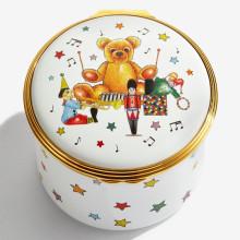 Musical Enamel Box Twinkle Twinkle Little Star plays 'Twinkle, Twinkle, Little Star'. (Special Order) | Gracious Style