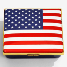 Iconic United States of America Changing the Guard Enamel Box (Special Order) | Gracious Style