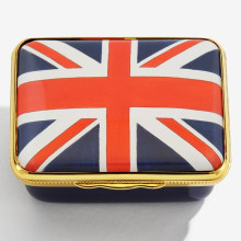Iconic Great Britain Windsor Castle at Night Enamel Box (Special Order) | Gracious Style