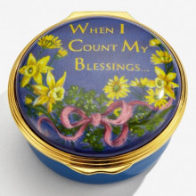 When I Count My Blessings Enamel Box (Special Order) | Gracious Style