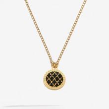 Agama Sparkle Black Gold Pendant | Gracious Style