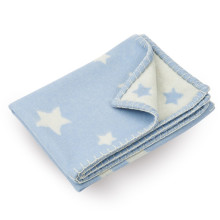 Cashmere Baby Blanket Blue | Gracious Style